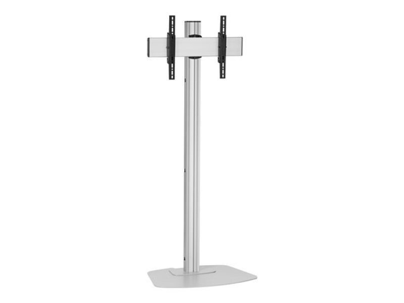 F1544 S/1.5m floor stand, for displays up to 65, max VESA 400 x 400, max weight 80kg - Silver