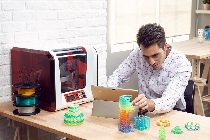 XYZ Da Vinci Jr. 2.0 Mix 3D Printer