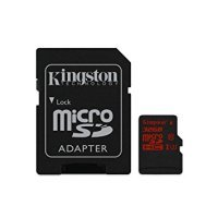 Kingston Gold 32GB UHS-I Speed Class 3 microSD Card + SD Adaptor