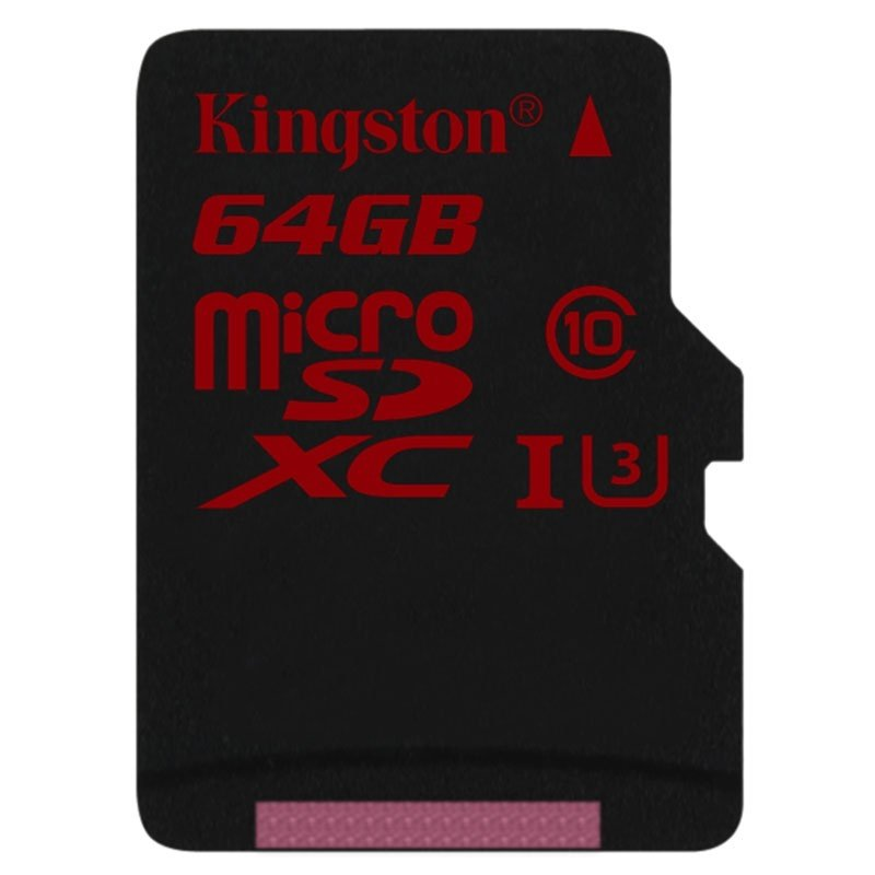 Kingston Gold 64GB UHS-I Speed Class 3 microSD Card