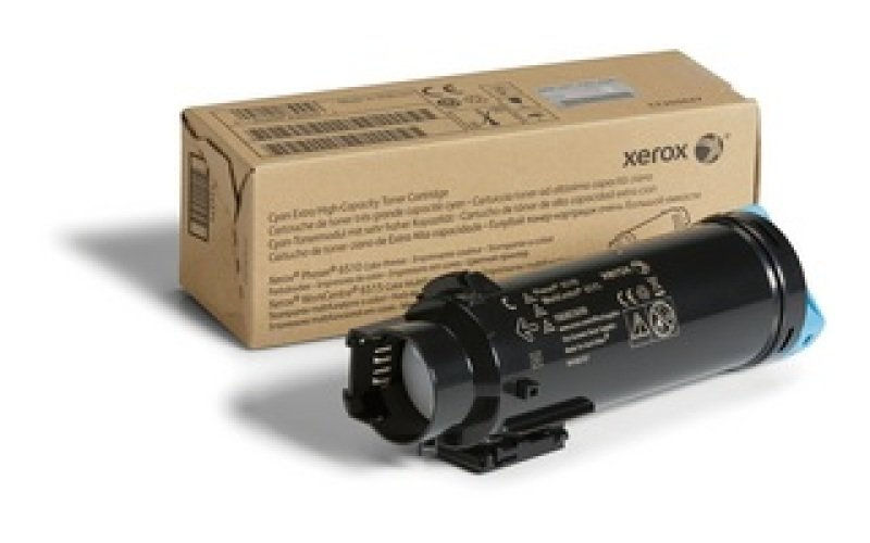 Xerox Cyan Toner Cartridge- 4.3k Yield- Extra High Capacity