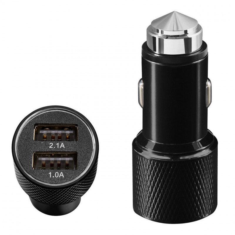 QDOS QD-214-JK Auto Black mobile device charger