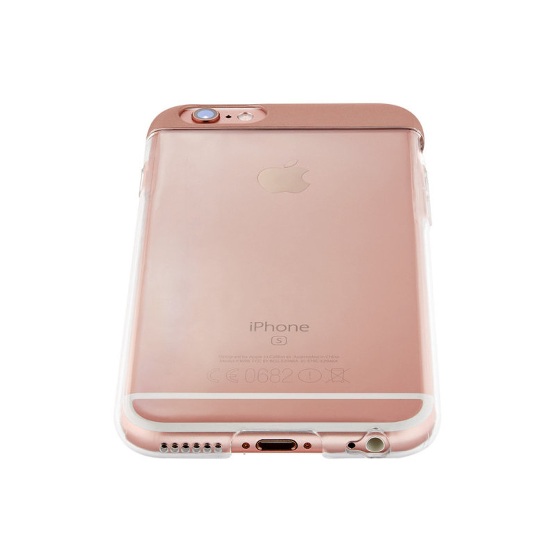 QDOS TOPPER Cover Case for iPhone 6S/6 - Rose Gold
