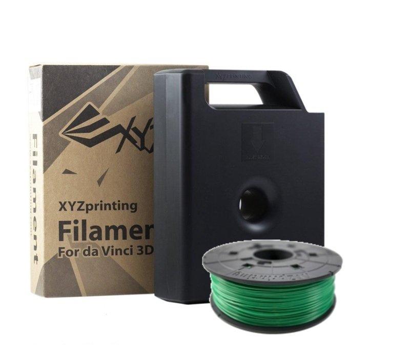 Xyz Pla Filament Clear Green