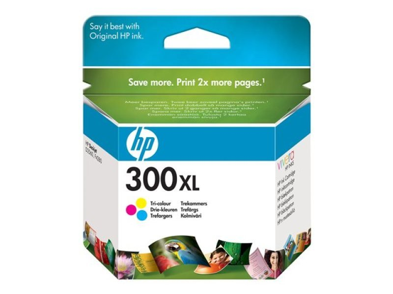 HP 300XL Colour Ink Cartridge - CC644EE