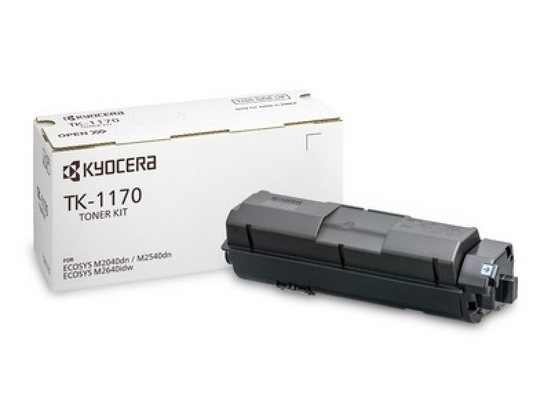 Kyocera TK-1170 Black Toner Cartridge- 7.2K Yield