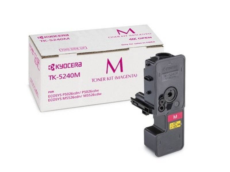 Kyocera TK-5240M Magenta Toner- 3K Yield