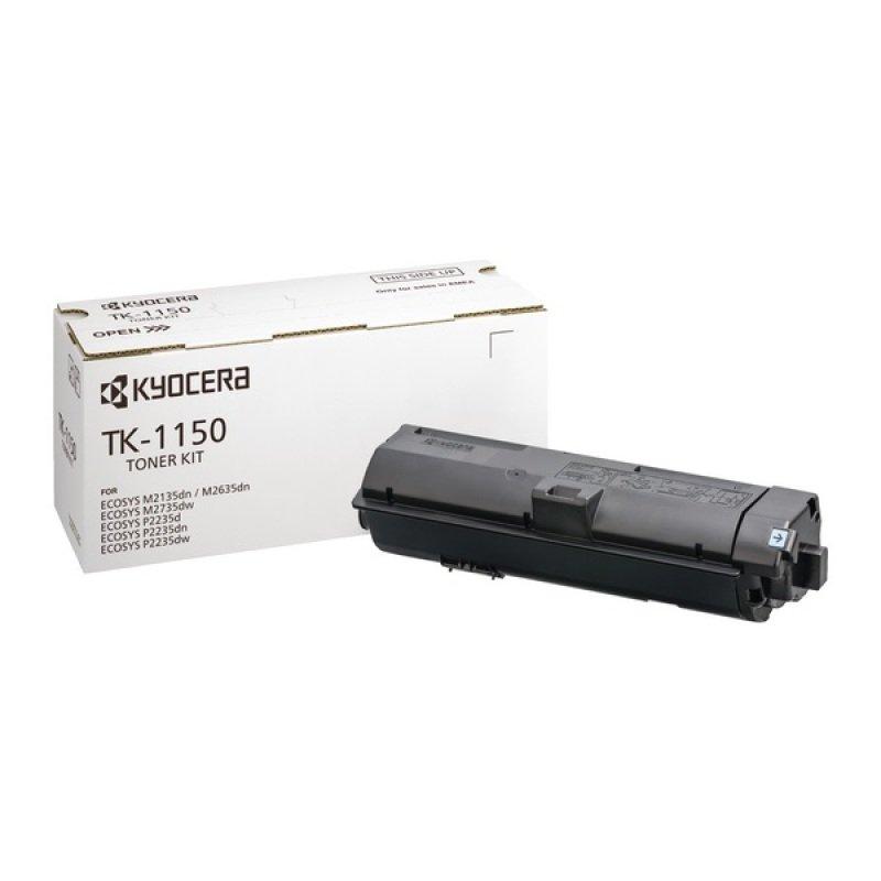 Kyocera TK-1150 Black Toner Cartridge- 3K Yield