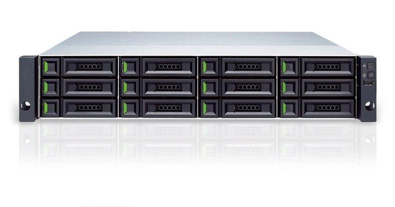 Qsan XS3212D XCube 2U 12 Bay SAN Rack Enclosure - Dual Controller
