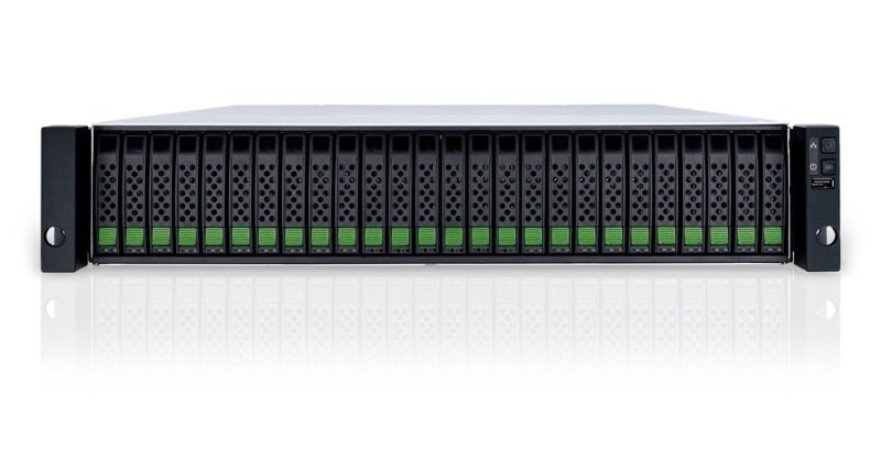 Qsan XS3226D XCube 2U 26 Bay SAN Rack Enclosure - Dual Controller