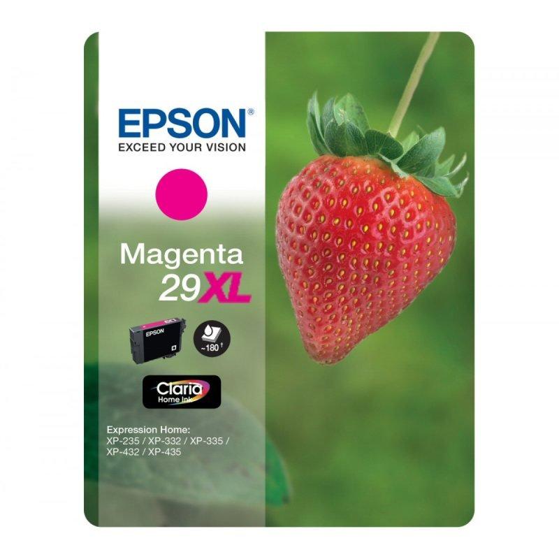 Epson 29XL Strawberry High Yield Ink Cartridge - Magenta