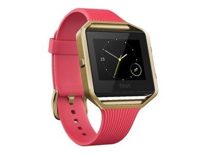 Fitbit Blaze - Pink & Gold Large