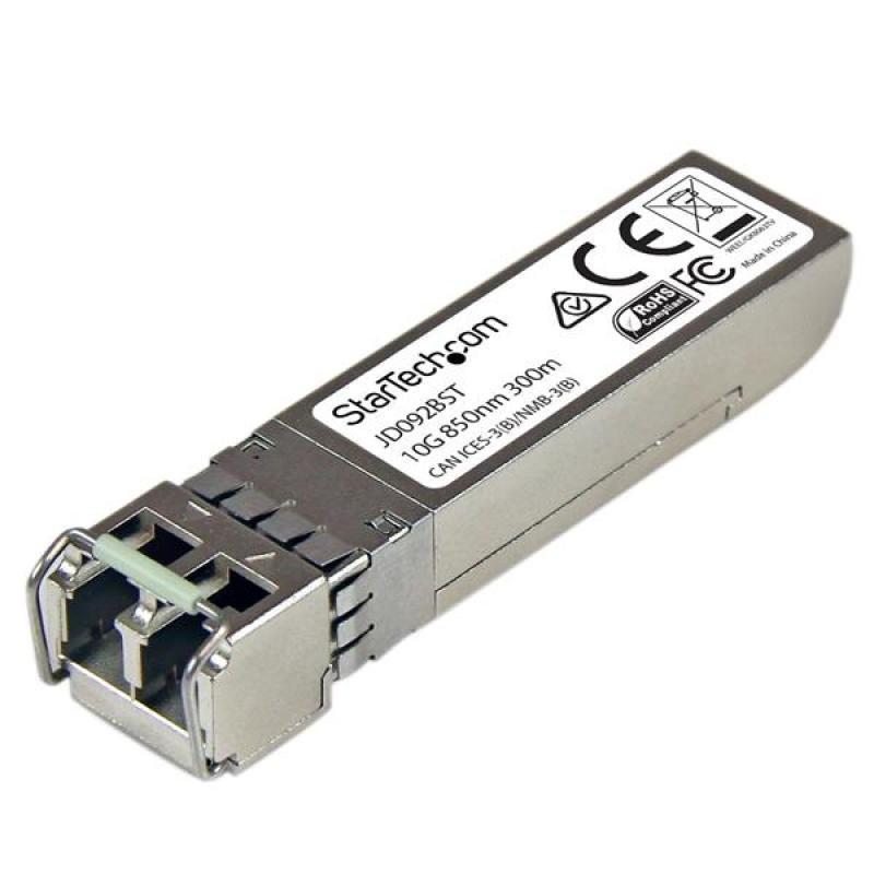 Startech.com 10 Gigabit Fiber SFP+ Transceiver Module MM LC With DDM 300m