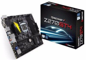 Biostar Z270GT4 + LED-FAN Intel Socket 1151 mATX Motherboard