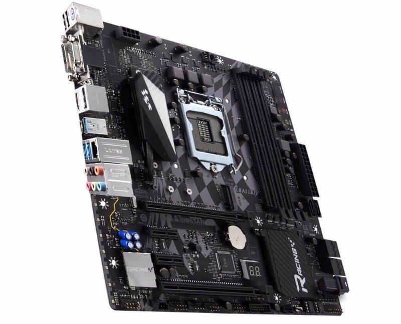 Biostar Z270GT4+LED-FAN Intel Socket 1151 mATX Motherboard