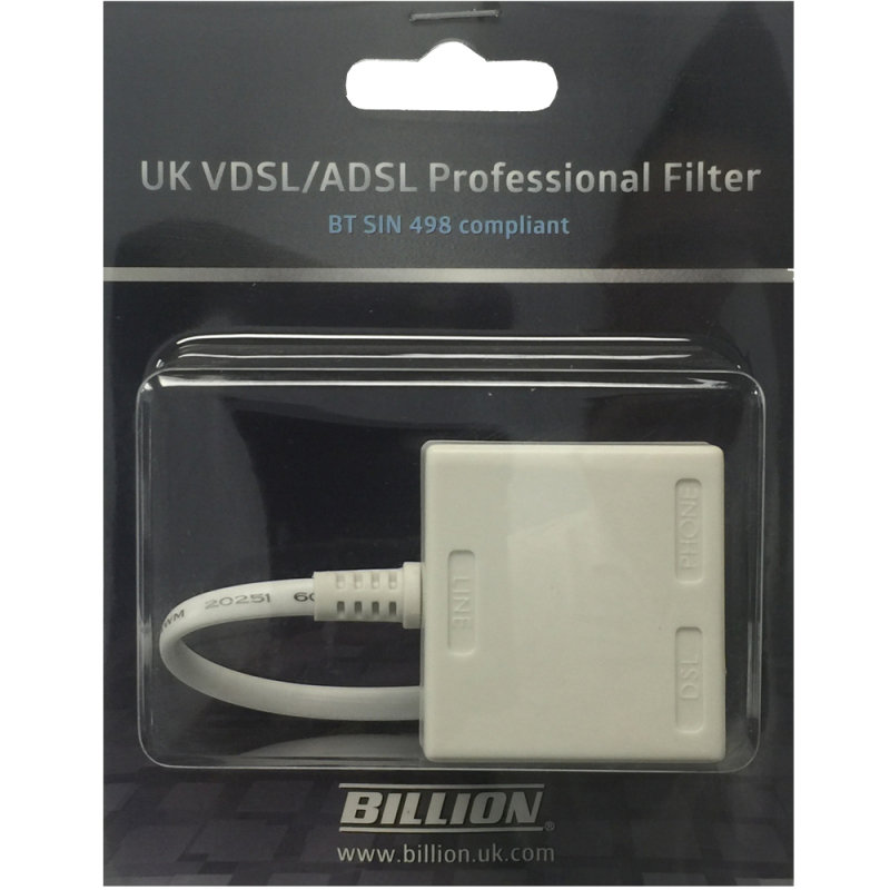 Image of Billion AFB714P Professional VDSL/ADSL 2+ Microfilter