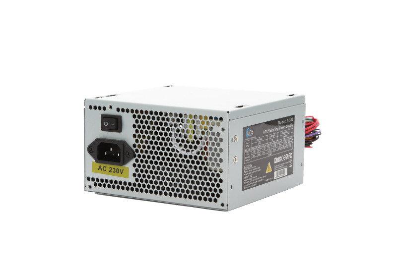 Image of ACE 520W 12cm Fan SATA 20+4pin Grey PSU