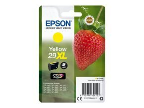 Epson 29XL Strawberry High Yield Ink Cartridge - Yellow