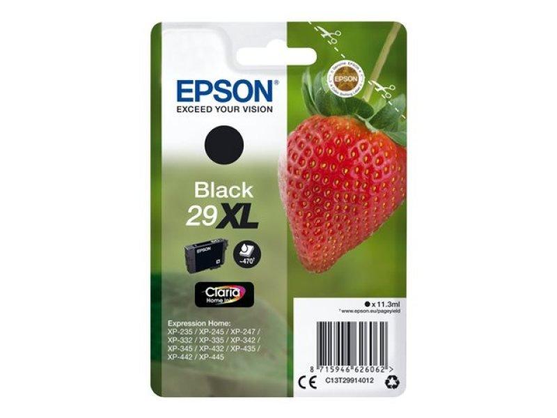 Epson Strawberry 29XL Black Ink Cartridge