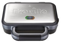Breville Deep Fill Sandwich Toaster Stainless Steel 2 Slice 1 Year Warranty