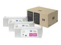 HP 81 Multi-pack 3x MagentaOriginalInk Cartridge - Standard Yield 680ml - C5068A