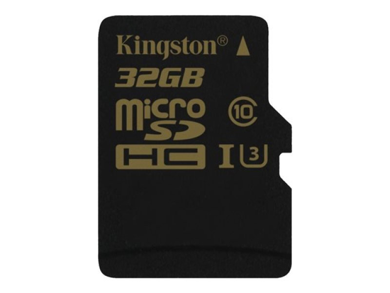 Kingston Gold 32GB UHS-I Speed Class 3 microSD Card