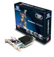 Sapphire HD 5450 1GB DDR3 VGA DVI HDMI PCI-E Low Profile Graphics Card