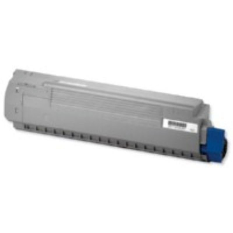 OKI - Toner cartridge - 1 x black - 8000 pages