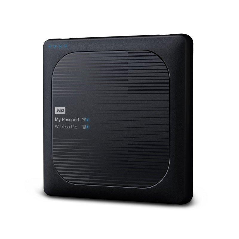 WD My Passport Wireless Pro 4TB Portable External Hard Drive