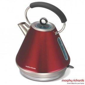 Morphy Richards 1.5 Litre Elipta Red Kettle