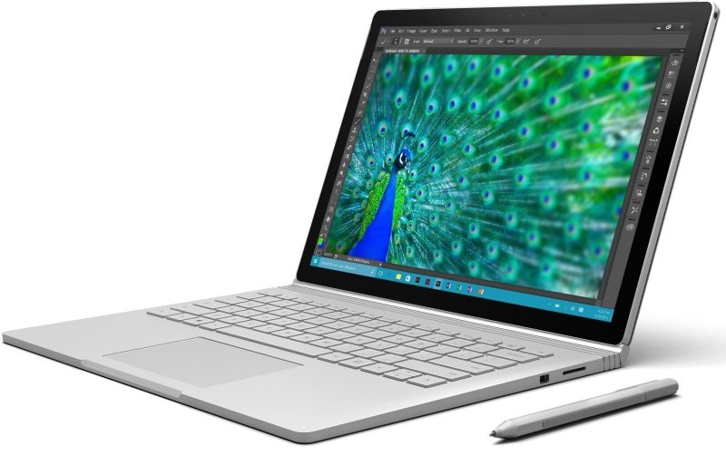 Microsoft Surface Book i5 128GB Tablet - Silver