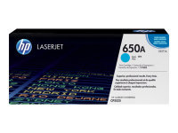 HP 650A Cyan Toner Cartridge - CE271A