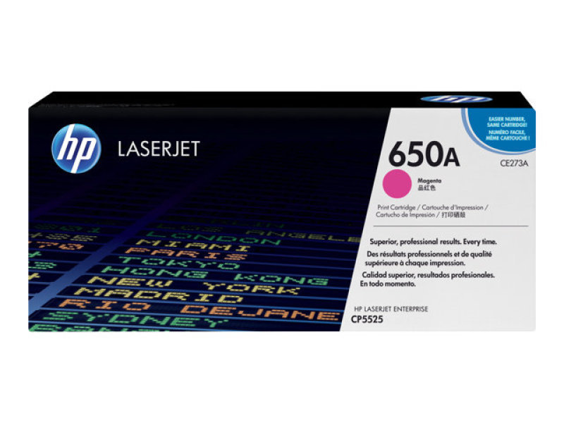 Hp 650A Magenta Toner Cartridge - CE273A
