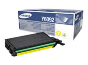 Samsung CLT-Y6092S Yellow Toner Cartridge - 7,000 Pages