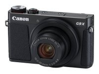 Canon PowerShot G9 X Mark II - Digital camera - compact - 20.1 MP - 1080p / 60 fps - 3x optical zoom - Wi-Fi, NFC, Bluetooth - Black