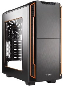 BeQuiet Silent Base 600 Gaming Case Orange with Window