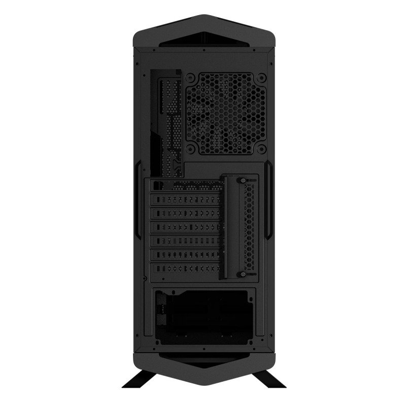 P7C1 Black MidTower 8 Colour LED & PWM-Glass Panel