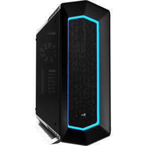 Aerocool P7C1 White Mid Tower 8 Colour LED Case