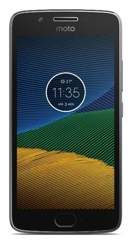 Motorola Moto G5 16GB 4G Phone - Lunar Grey