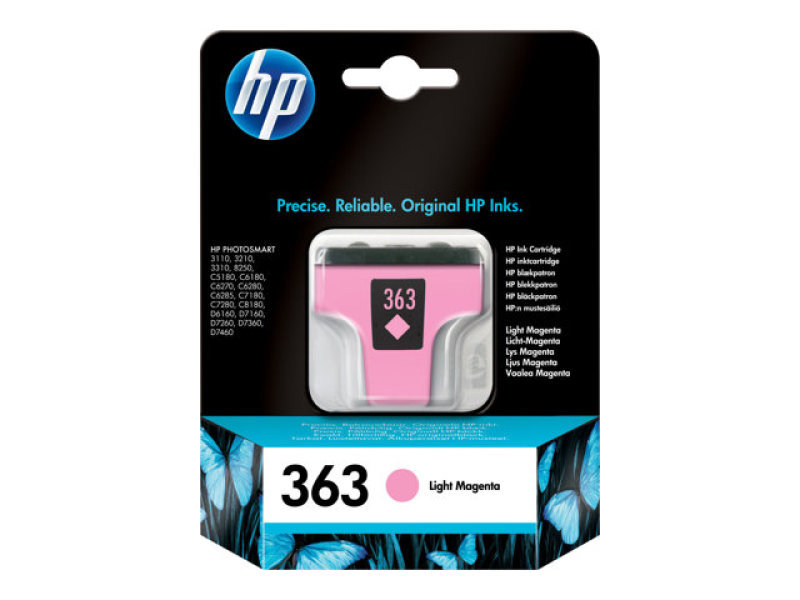 *HP 363 Light Magenta Ink Cartridge - C8775EE