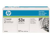 HP 53X Black Toner cartridge - Q7553X