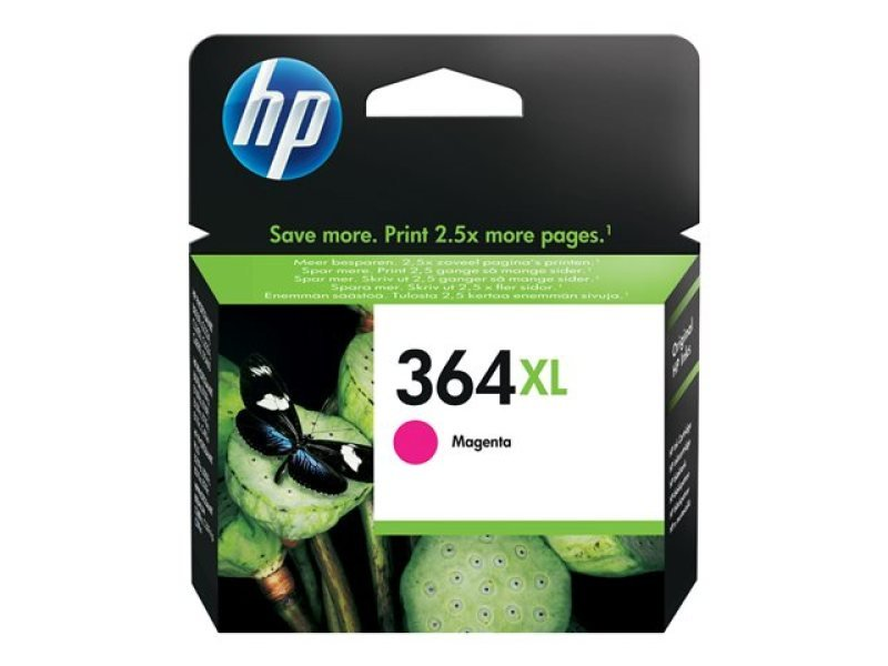 HP 364XL Magenta Ink Cartridge - CB324EE