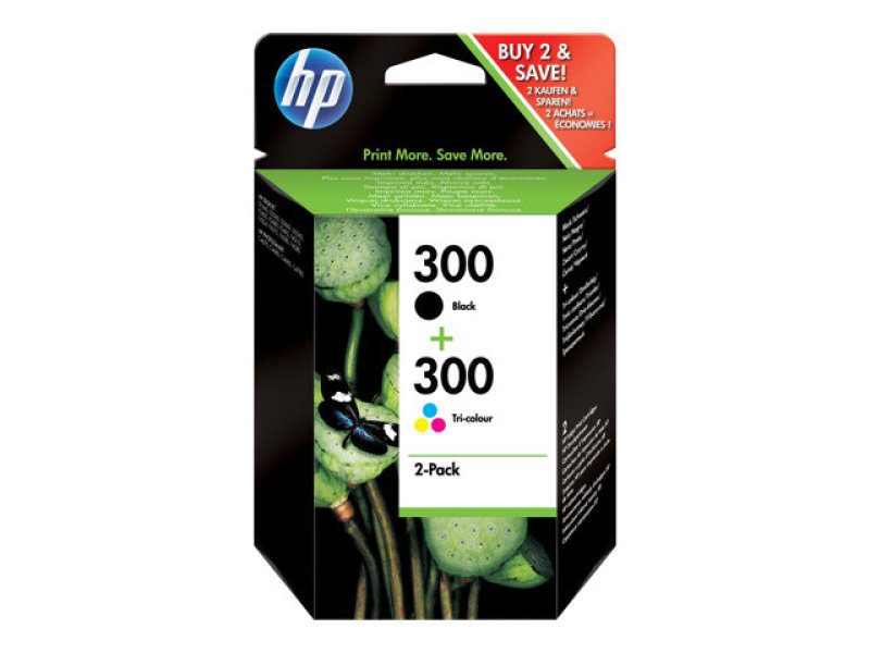 HP 300 colour Ink Cartridge - CN637EE