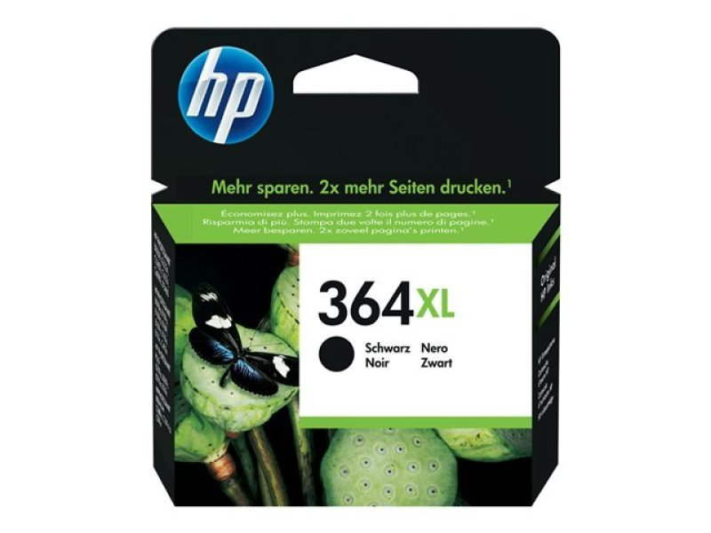 HP 364XL High Yield Black Ink Cartridge - CN684EE