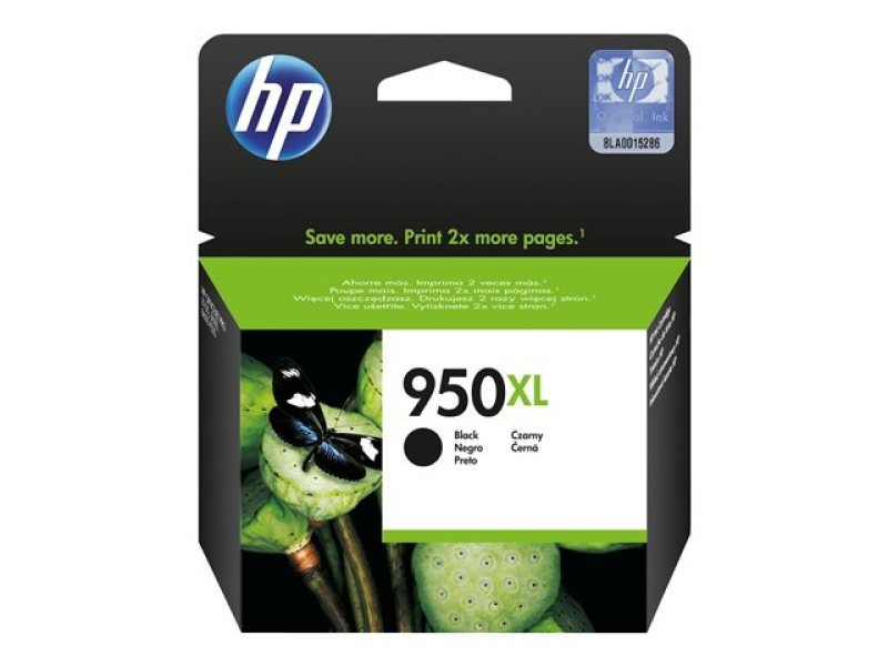 HP 950XL Black Ink Cartridge - CN045AE