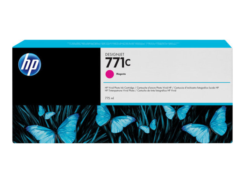 HP 771C 775ml Magenta Ink Cartridge - B6Y09A