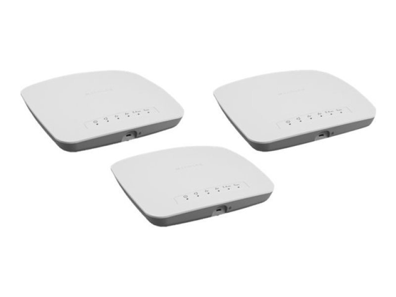 NETGEAR Insight Managed Smart Cloud (WAC510) - Wireless Router - 802.11a/b/g/n/ac Wave 2 - Desktop (Pack of 3)