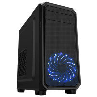 CIT Illusion Micro ATX Case Black