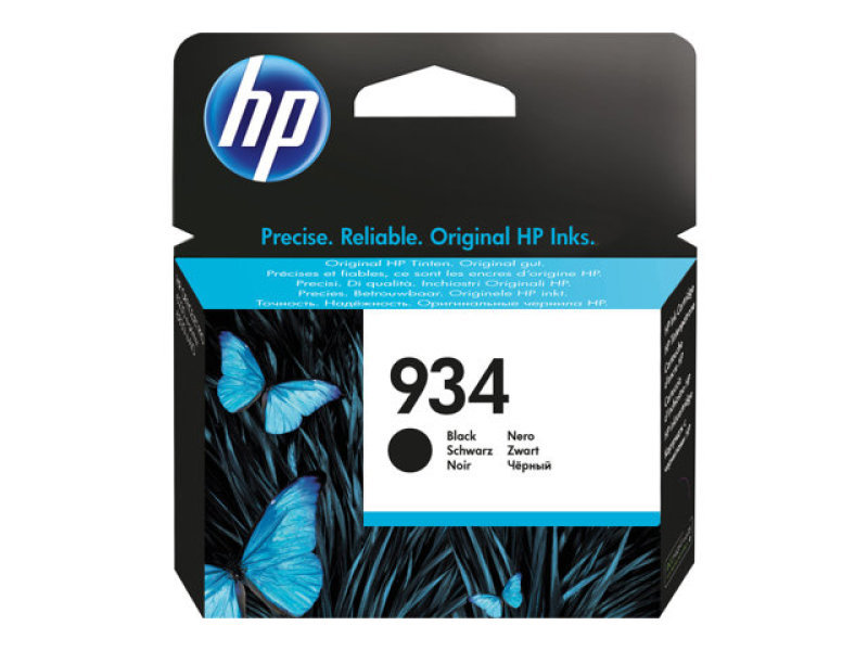 HP 934 Black Ink Cartridge - C2P19AE