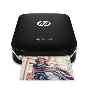 HP Sprocket Photo Printer Black